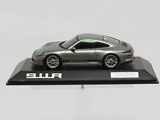 """Porsche 911R  zilver 1/43 WAP0201460G Porsche 991  """"Spark"""" Geneve Autosalon"""