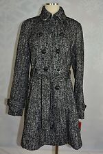 INC International Concepts Double breasted, belted,  skirted trench NWT size M