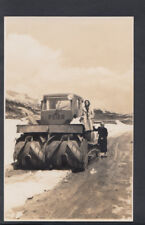 Construction Postcard - Peier Vehicle - Unknown Location - Snow Landscape T294