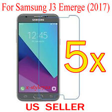 5x Clear Screen Protector Guard Cover Film For Samsung Galaxy J3 Emerge (2017)