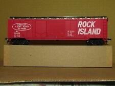 ROCK ISLAND CUSHION CAR BOX CAR BY IHC/MEHANO HO SCALE AND FACTORY ORIGINAL NEW