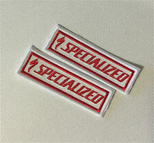 x2 Specialized downhill s-work demo bighit rare embroidered patch badges