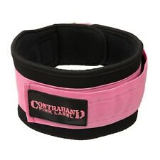 Contraband Pink Label 4047 Womens 5in Foam Padded Weight Lifting Belt