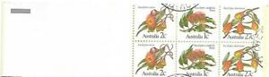 1982 Eucalyptus  60 cent  Booklet See photos CTO Used Both sides Shown