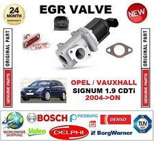 FOR OPEL VAUXHALL SIGNUM 1.9 CDTi 2004-ON Electric EGR VALVE 2-PIN with GASKET