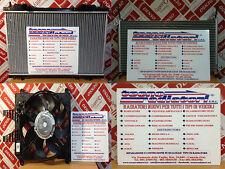 RADIATORE MOTORE FIAT MULTIPLA 1.9 JTD 105CV '99 AL '04 MODULO COMPLETO