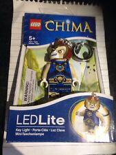 Lego Chima Laval the Lion Figure Led Lite key light new in box