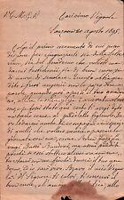 LETTERA DA SARZANA PER ONZO 1895  C8-519