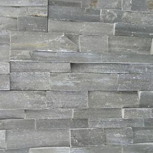 Verblendsteine  Grau Rau, Wandverblender, Wandgestaltung, Echtstein