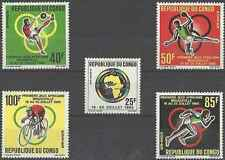 Timbres Sports Congo 175/9 ** lot 17583