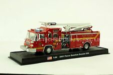 Giant Fire Truck Pierce Quantum Snozzle - 2001 USA Diecast Model 1:64 No 19