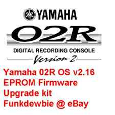 Yamaha 02R OS v2.16 EPROM Firmware Upgrade kit