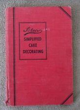 Ateco Simplified Cake Decorating Vintage Hardback Book