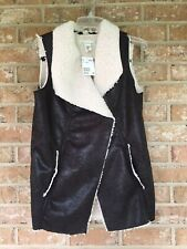 LOGG Women's Jacket Vest Size Small NWT MSRP 40.00
