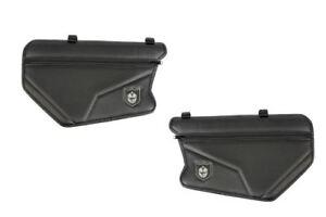 Pro Armor Stock Door Knee Pad Storage Bags Black Can Am Maverick X3