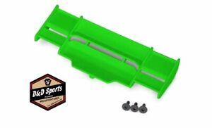 Traxxas 6721G Wing - Rustler 4x4 (Green)/ 3x8 Fcs (3)