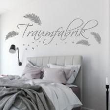 Wandtattoo Schlafzimmer Kinderzimmer Traumfabrik Sterne Träumen 118x24cm