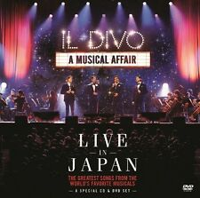 IL DIVO - A MUSICAL AFFAIR: LIVE IN JAPAN 2 CD NEU