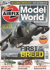Airfix MODEL WORLD Dec 2013 Harrier Build USAF Robin Olds DFS 40 + 2014 CALENDAR