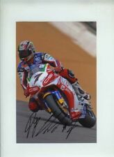 Frankie Chili Honda World Superbikes Brands Hatch 2006 Signed Photograph