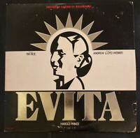 Evita - 1979 Vinyl LP - MCA2-11007 With Broadway Playbill