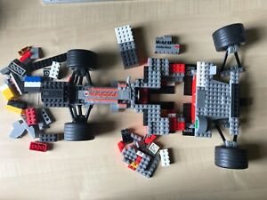Large size Racing car lego type blocks