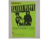 Skinny Puppy Handbill Poster Liberty lunch