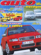 AUTO n°11 2002 - Tuning Audi TT AS4 Seat Leon - Alfa 156 GTA vs Golf R32 [Q199A]