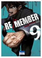 manga Re/Member Tome 9 Seinen MURASE Katsutoshi Welzard Ki-Oon ! horreur カラダ探し