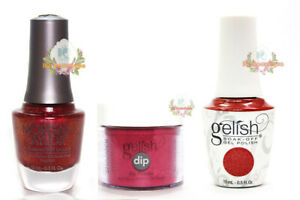 Harmony Gelish Updated 118 TRIO Soak-Off Gel - Dip - Lacquer ** Pick Any Color