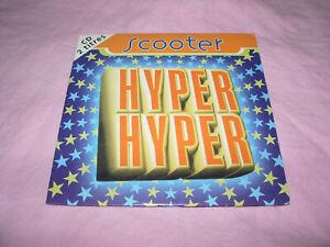/// CD SINGLE SCOOTER HYPER HYPER  / EURO DANCE 1994