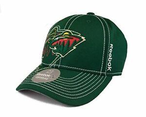 Reebok NHL Minnesota Wild Fitted Flexfit Hat