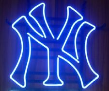 "New York Yankees Neon Sign Beer Bar Pub Gift Light 17""x14"""