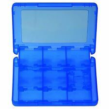 28 in 1 Game Card Memory Card Stylus Storage Case for Nintendo 3DS 3DS XL Blue