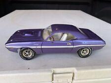 1970 Hemi Dodge Challenger diecast 1/18 cars ERTL