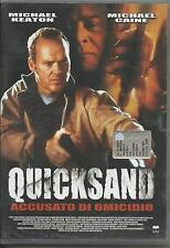 Quicksand. Accusato di omicidio (2002) DVD