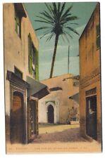 tanger ,une rue du quartier arabe