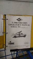 Versalift T2900 T3100 T3300N Aerial Lift Truck Service Repair Shop Manual