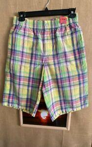 Polo Ralph Lauren Swimwear men's multicolor plaid swim trunks w/brief lining siz