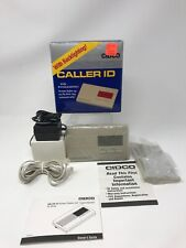 Nos Vintage 1992 Cidco Incorporated Caller Id With Backlighting! Model Sl-64-2