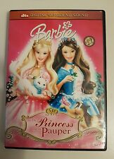 Barbie as The Princess And The Pauper - Region 3 - Good Condition - DVD - Tested