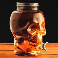 crâne en forme de verre Distributeur de boissons - 8 litres - emballé