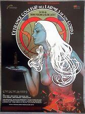The Strange Color Of Your Body's Tears Affiche Cinéma 53x40 Movie Poster Pliée