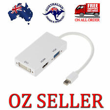 NEW 3in1 Display Port DP to HDMI VGA DVI Converter for Microsoft Surface Pro OZ