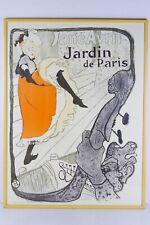 Toulouse Lautrec - Jane Avril (1893) - ca. 1950