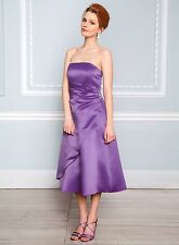 Bhs Eve Bridesmaid Dress Purple In Sizes 8 10 14 16 18