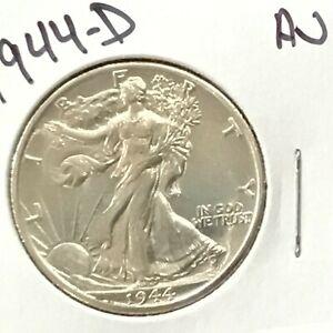 1944-D Walking Liberty Silver Half Dollar    E9061