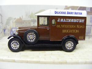 Matchbox Models Of Yesteryear Y19 Morris Cowley Van Sainsbury Brighton