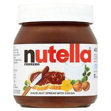 Nutella - Pâte à tartiner à la noisette et au cacao - lot de 2 pots de 400 g