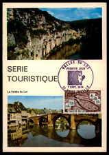 France Mk 1974 Vallee Du Lot Maximumkarte Carte Maximum Card Mc Cm H1636 Architektur